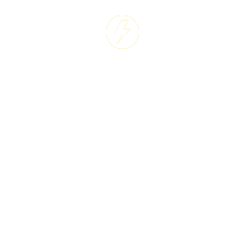 Silhouette illustration of a power worker