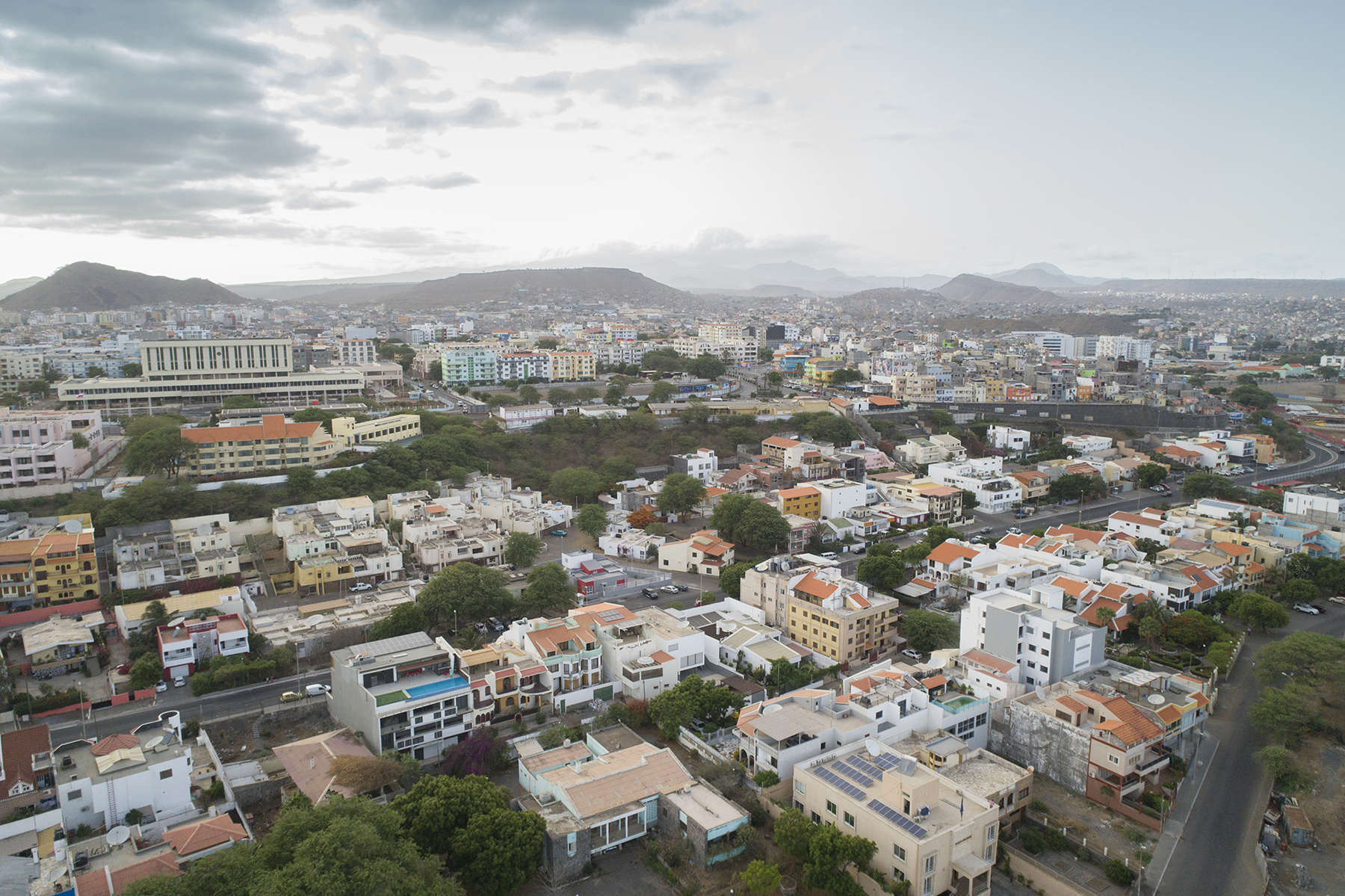 Photo of Praia, the capital of Cabo Verde.