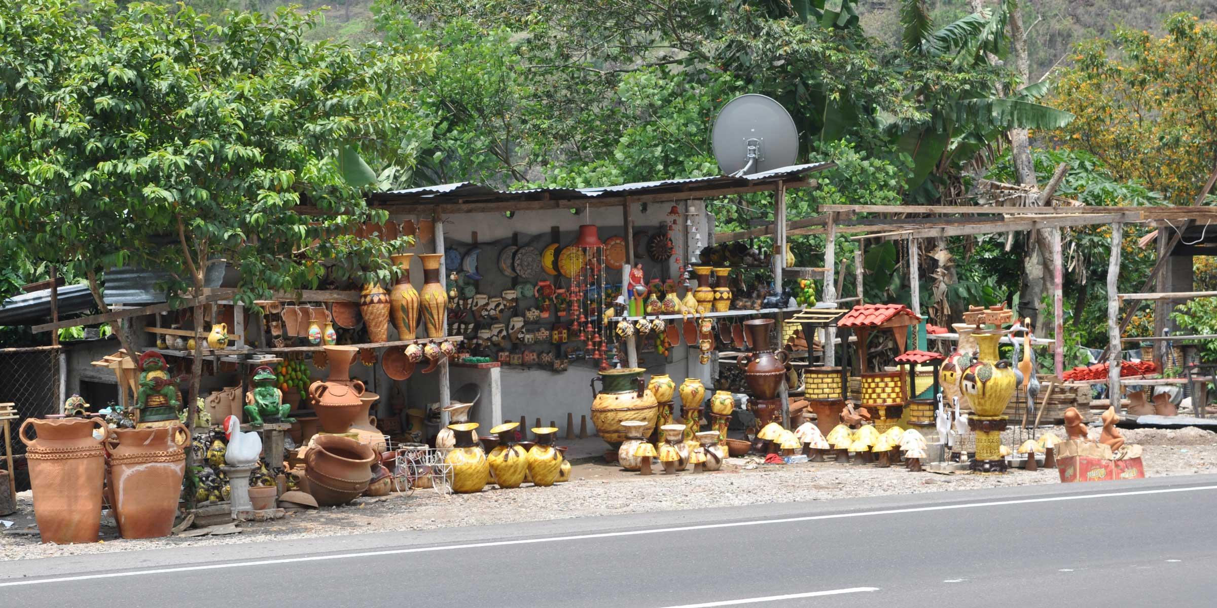 store along roadside