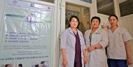 Healthcare providers that received training funded by MCC's Health Project in Mongolia.