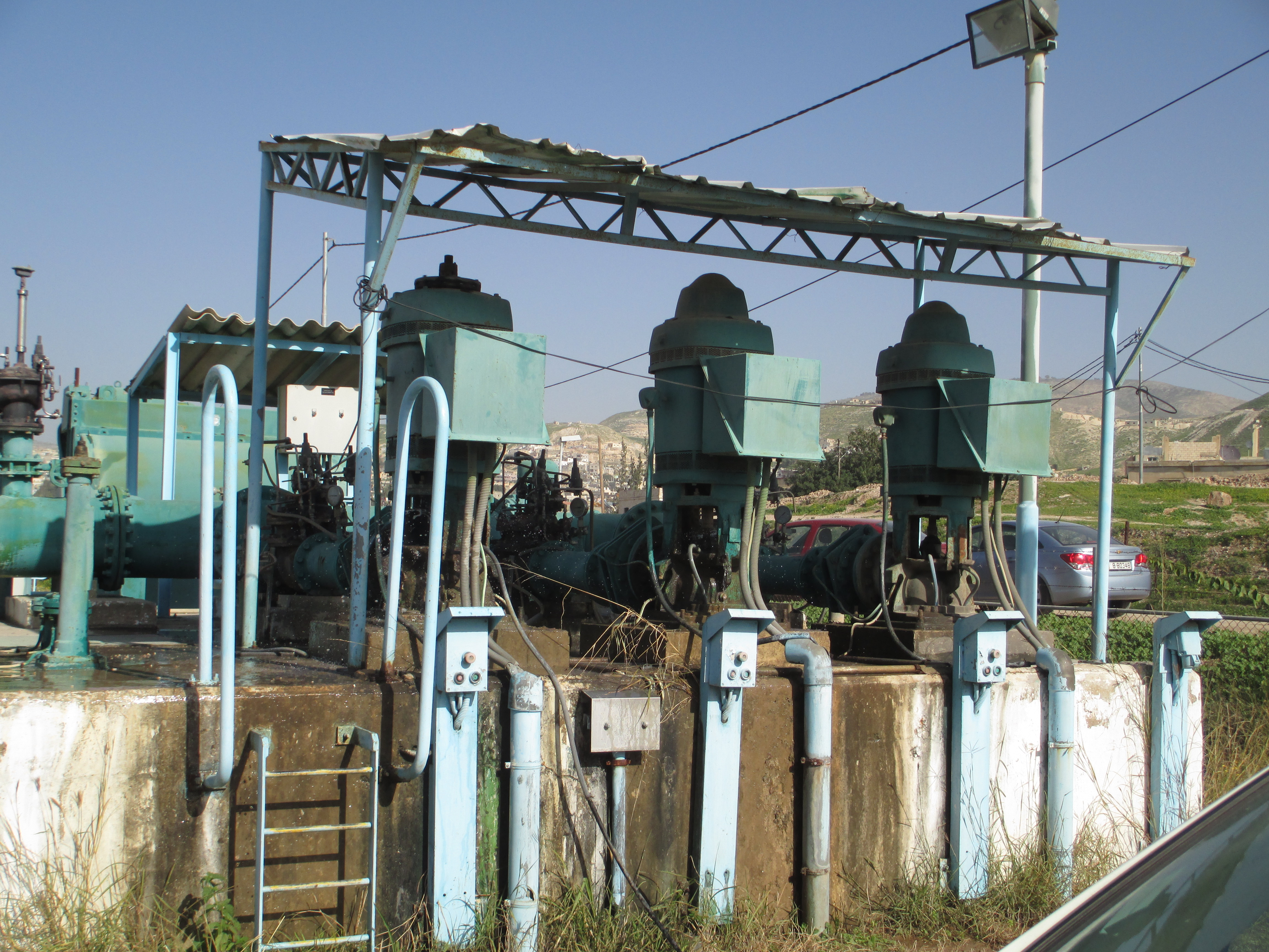 pump station in Jordan Valley