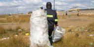 Manja Pamodzi waste collector.