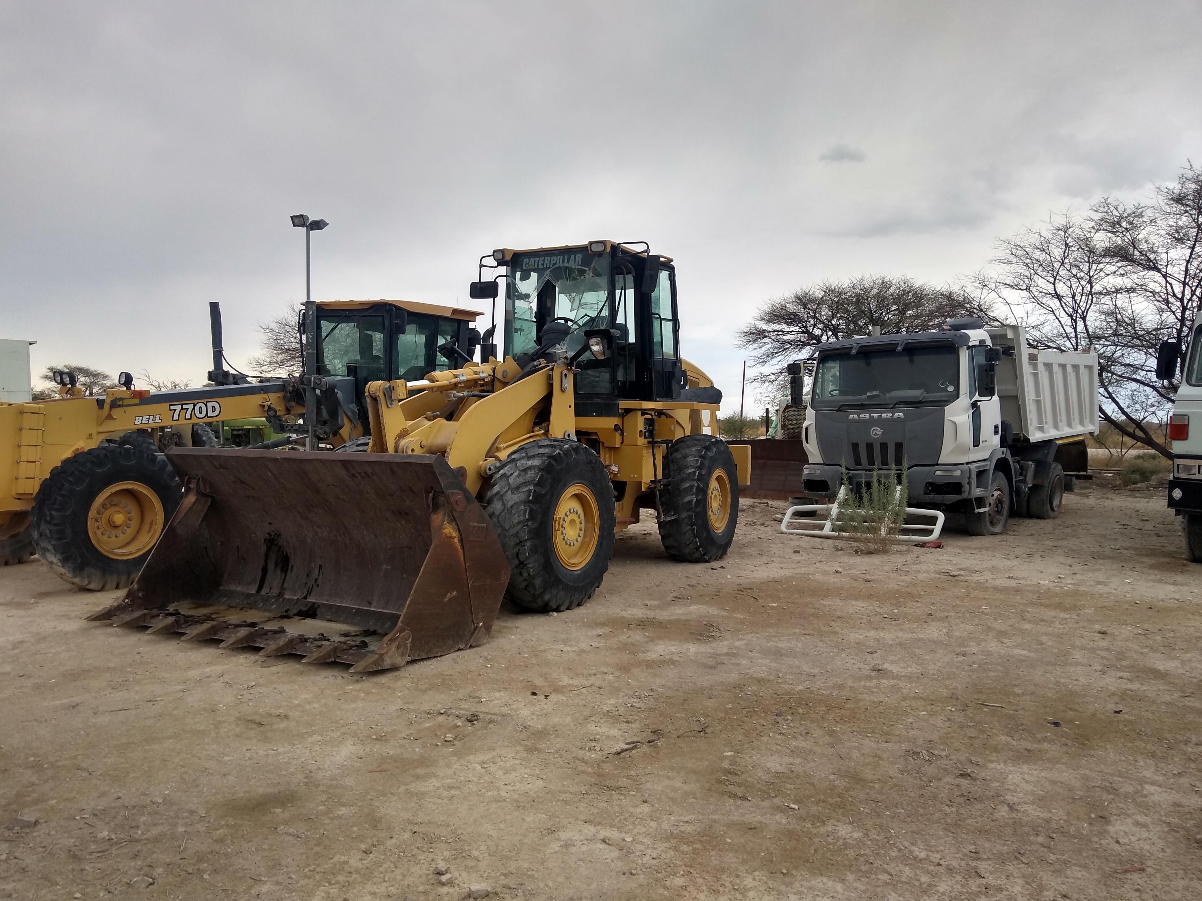 project tractor at Etosha