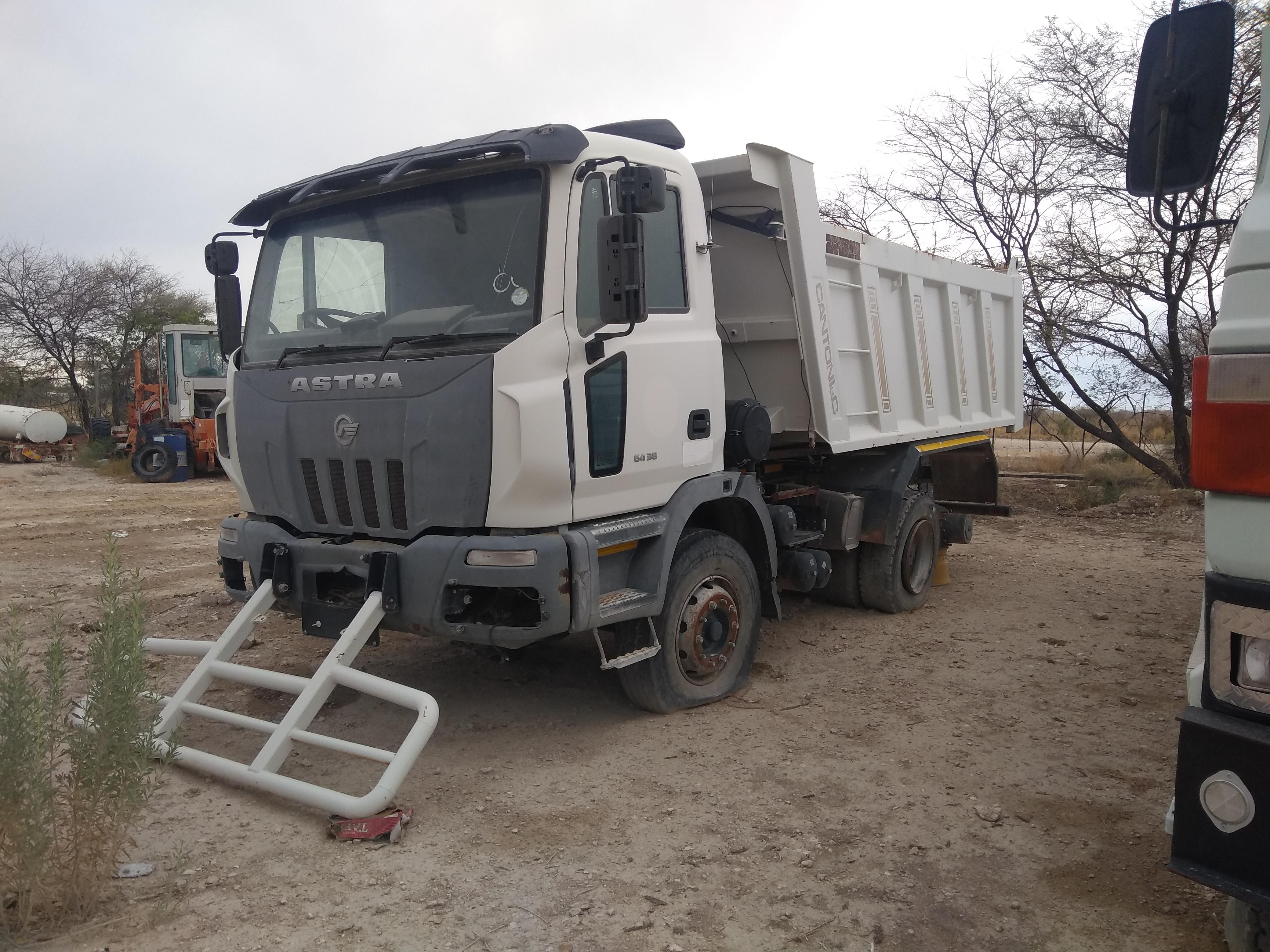 project truck at Etosha