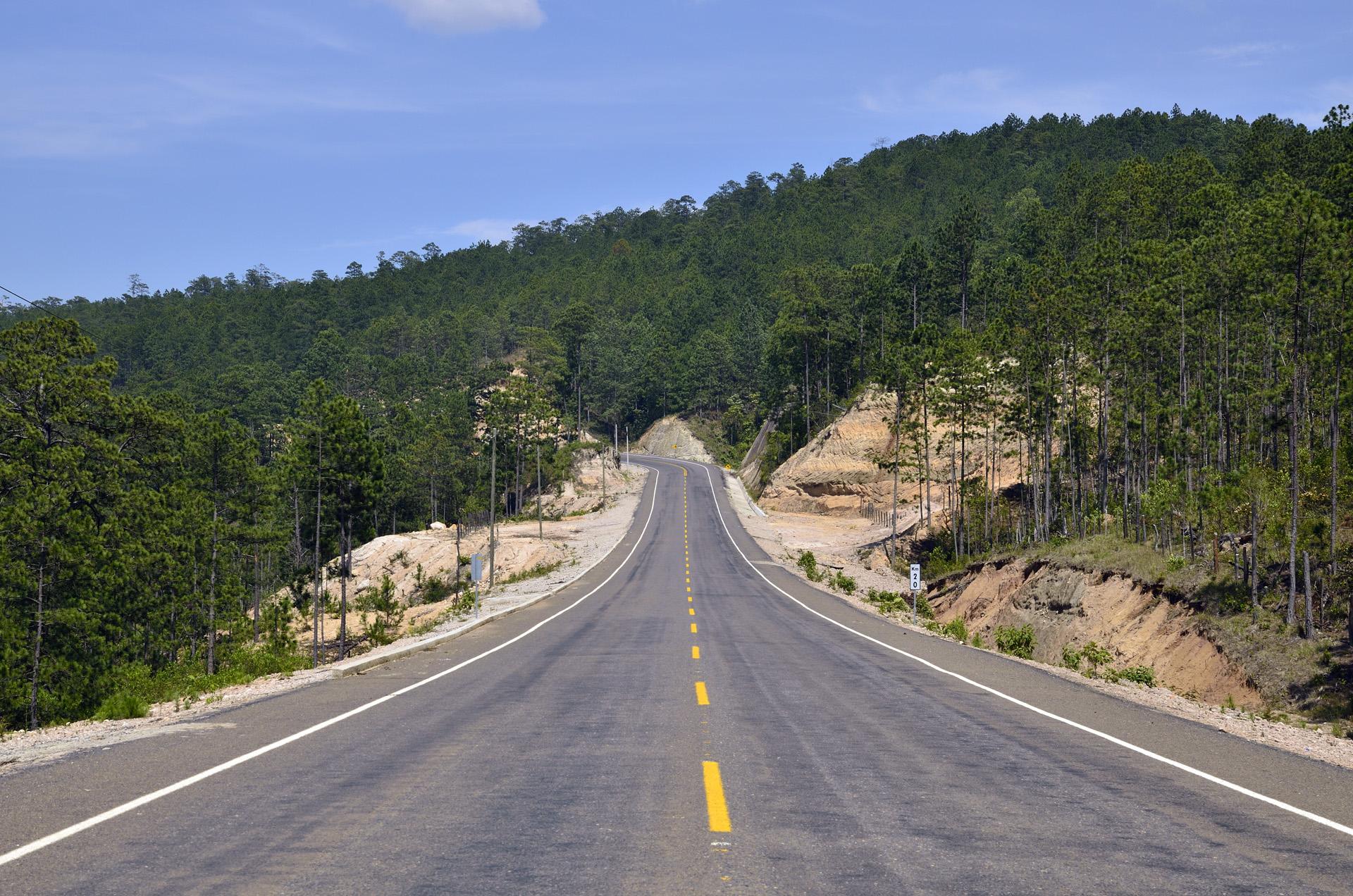 road in honduras