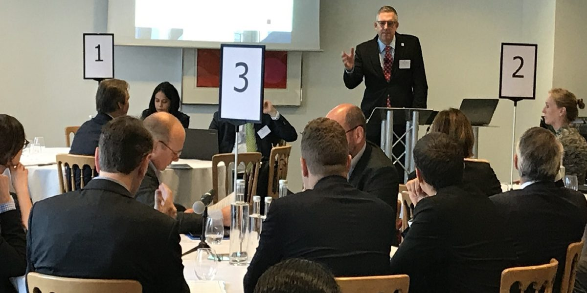 MCC Chief Operating Officer Jonathan Nash talks about how the public and private sectors can work together to mobilize private capital for public good — often called blended finance — at a conference hosted by international law firm Berwin Leighton Paisner on November 14 in London.