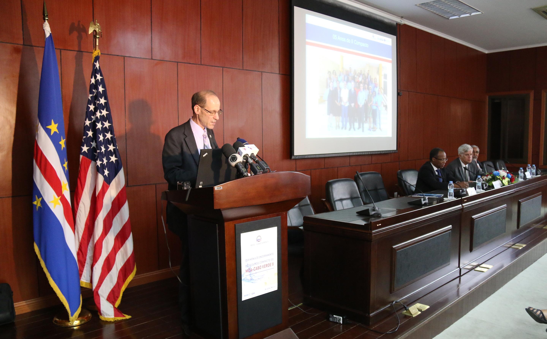 Dco Vp Robert Blau Visits Cabo Verde Millennium Challenge