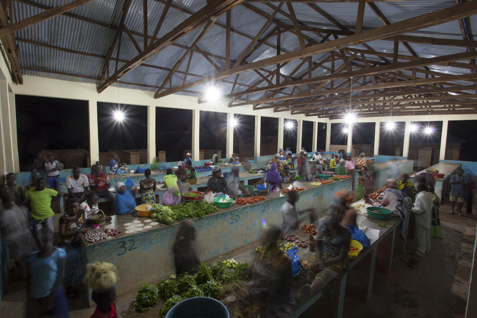 Use of electricity in fresh market