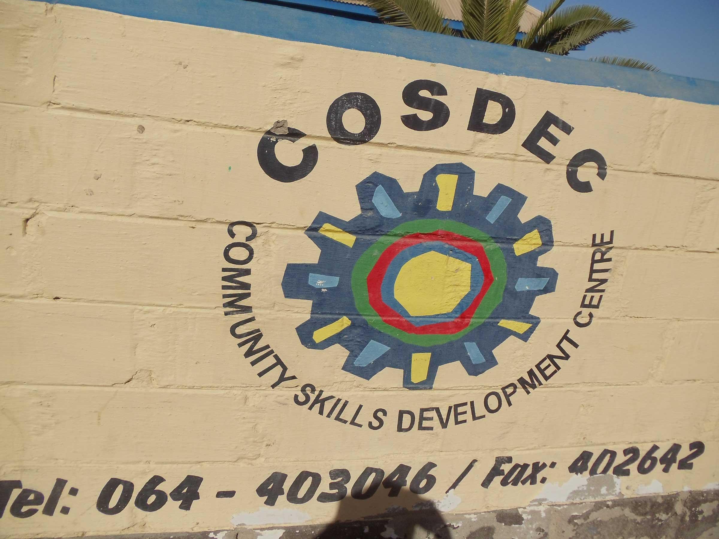 Namibia COSDEC training center logo
