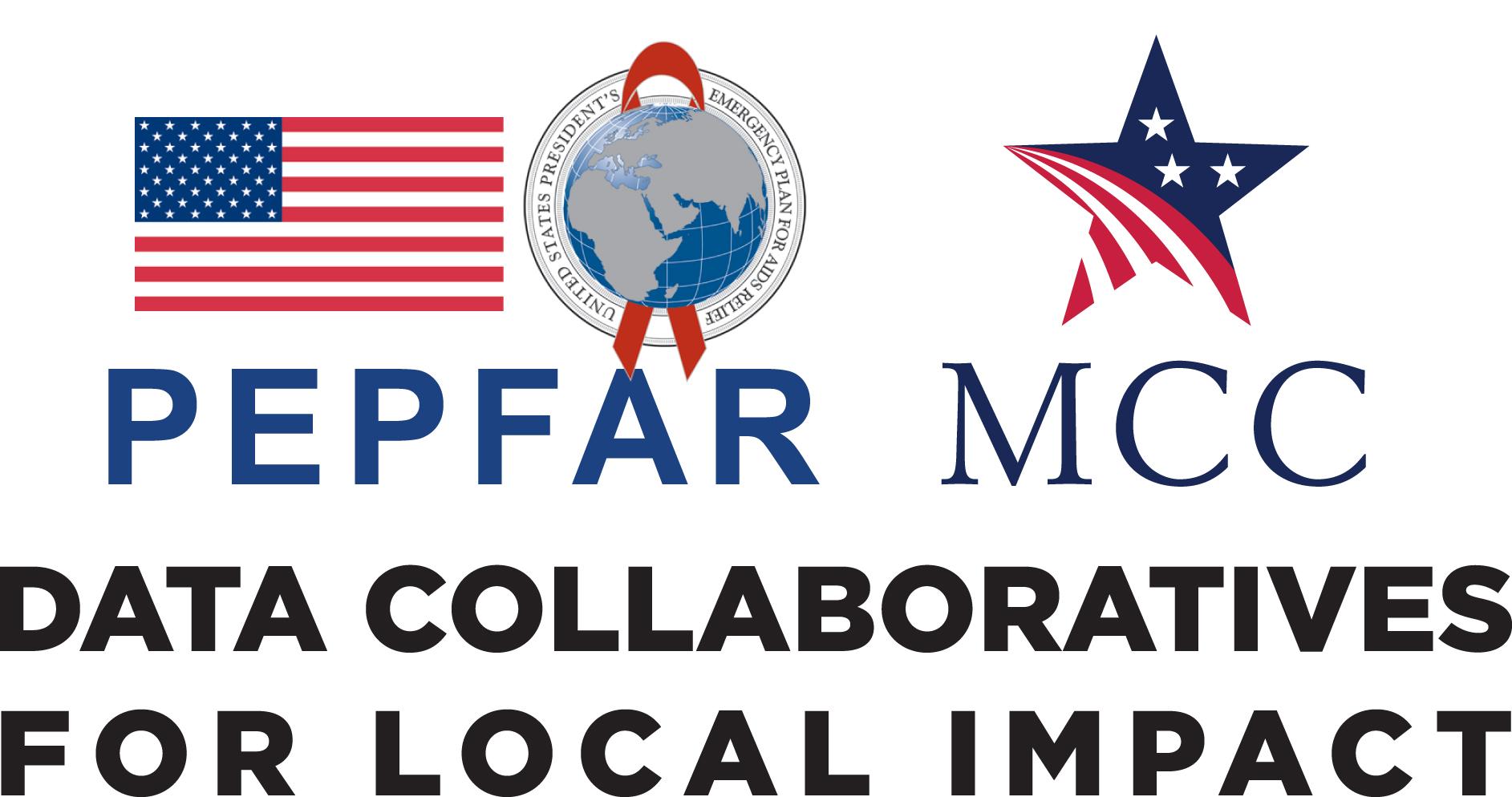 Logo: MCC PEPFAR Data Collaboratives for Local Impact