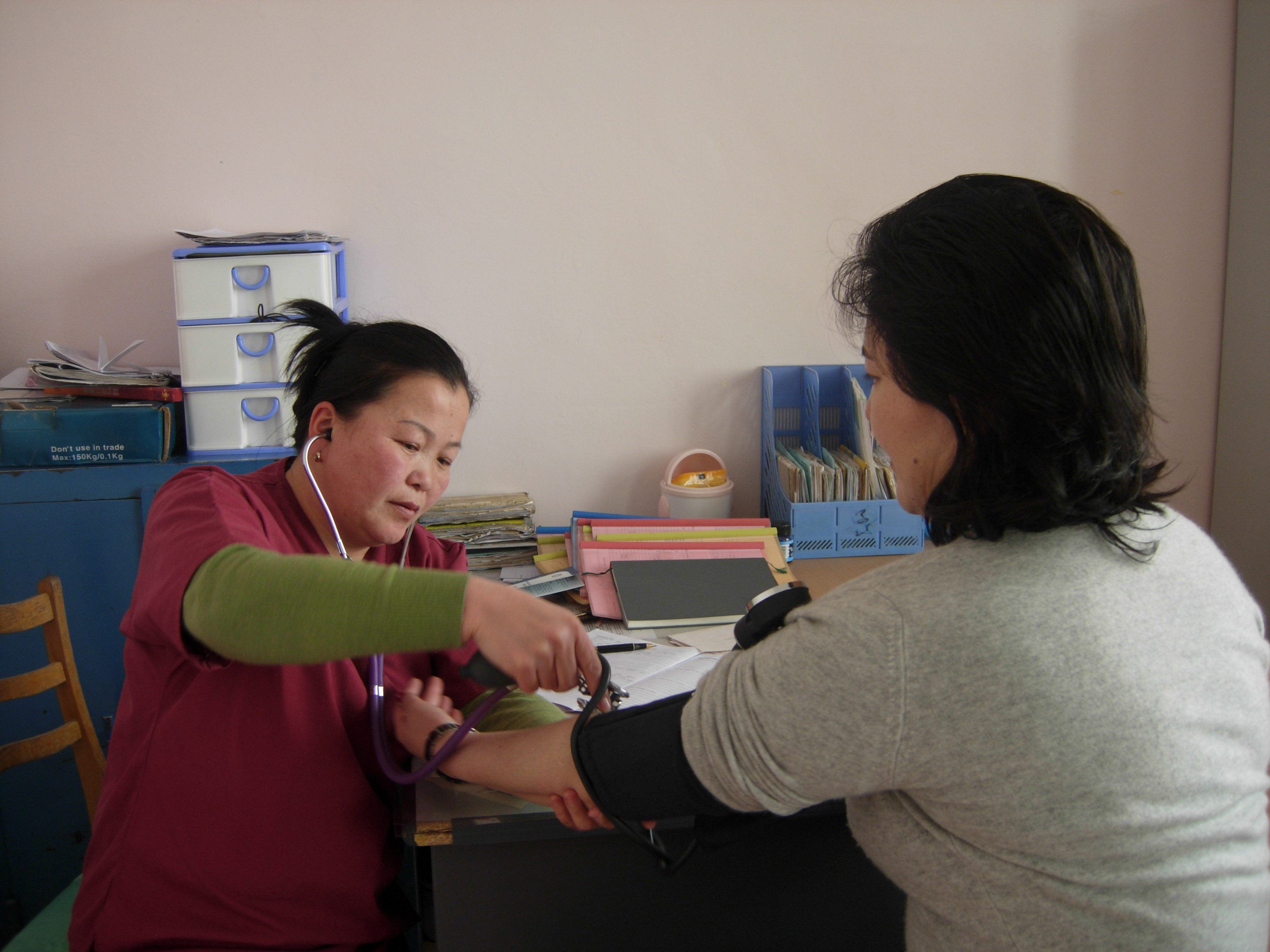 One project of the Mongolia Compact sought to address the high and growing incidence of non-communicable diseases and injuries by increasing the national and local response to NCDI and increasing the availability of health services.