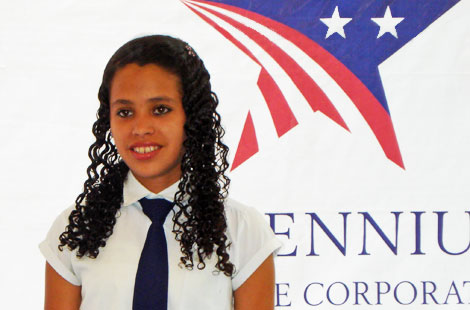 Andrea is a 15-year old student studying alternative tourism at San Ignacio Institute.
