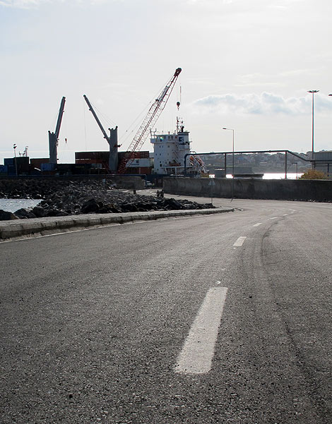 A new access road to the Port of Praia is just one of the MCC-funded improvements that have already been made.