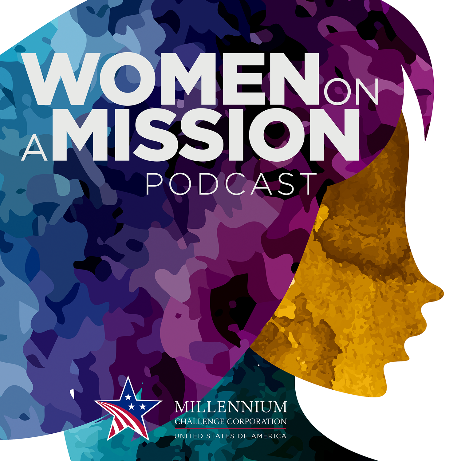 Graphic: Women on a Mission Podcast Series artwork