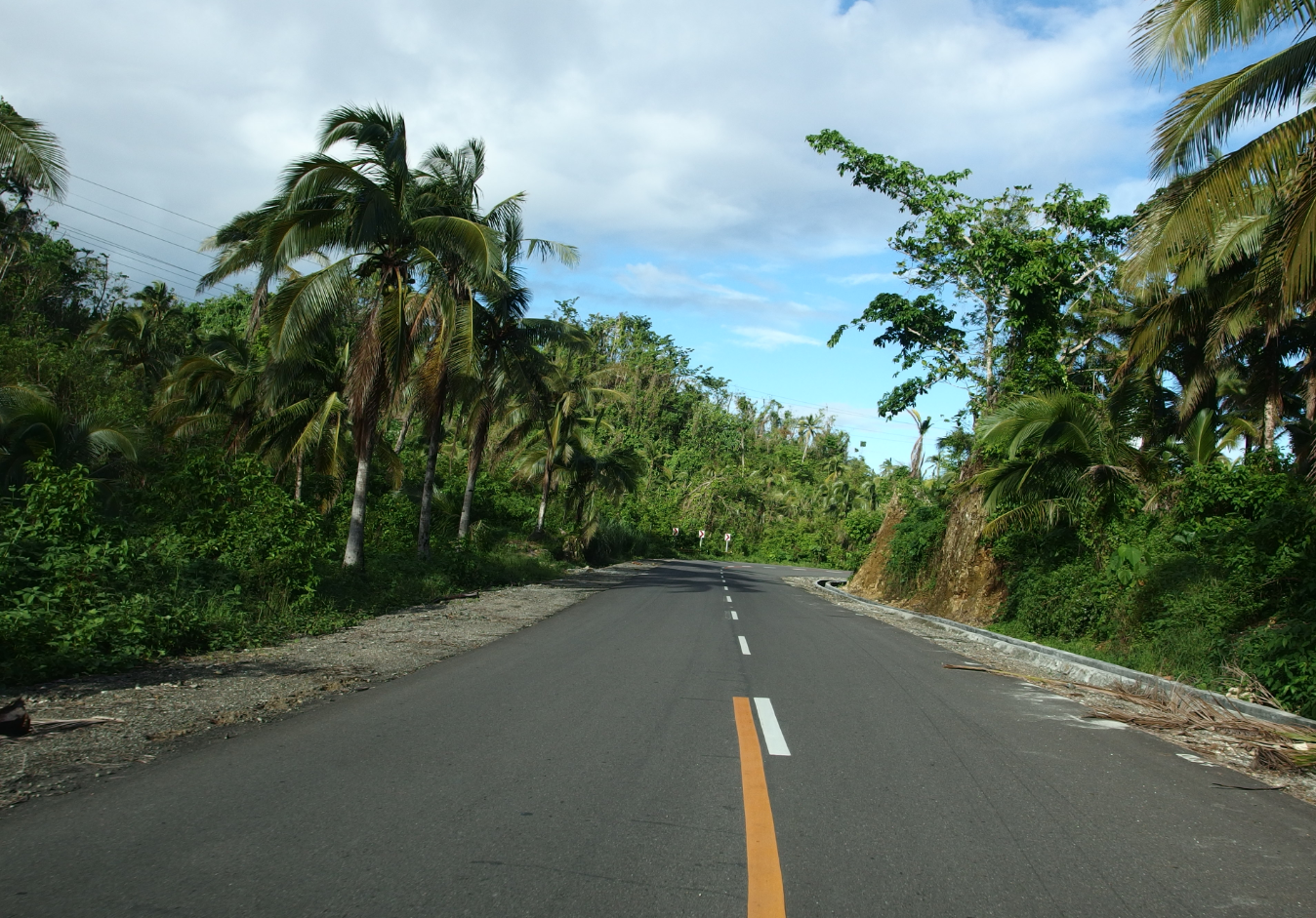 The MCC-funded road on Samar Island withstood Typhoon Haiyan, one of the strongest typhoons in history.