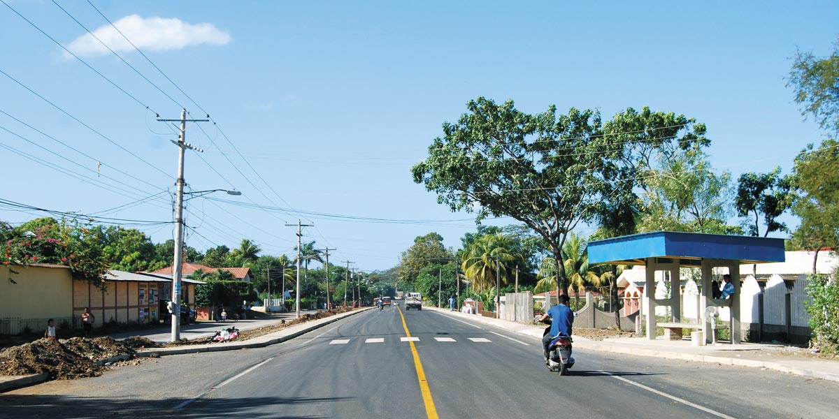 The León-Poneloya-Las Peñitas road was rehabilitated with funding from MCC as part of the $175 million Nicaragua Compact.